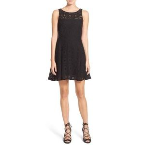 BB Dakota Renley Lace Fit and Flare